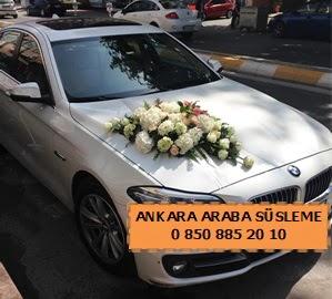 Ankara düğün araba süsleme  Ankara yurtiçi ve yurtdışı çiçek siparişi