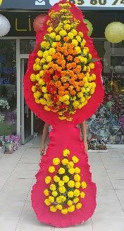 Çift katlı düğün nikah açılış çiçeği  Ankara çiçek siparişi vermek