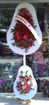 Çift katlı düğün nikah çiçeği  Ankara çiçek siparişi vermek