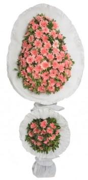 Çift katlı düğün açılış nikah çiçeği modeli  Ankara çiçekçi telefonları