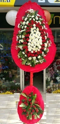 Çift katlı düğün çiçekleri  Ankara internetten çiçek siparişi