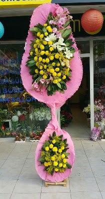 Çift katlı düğün açılış çiçeği  Ankara internetten çiçek siparişi