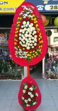 Ankara çiçekçi mağazası  Çift katlı düğün nikah çiçeği  Ankara online çiçekçi , çiçek siparişi