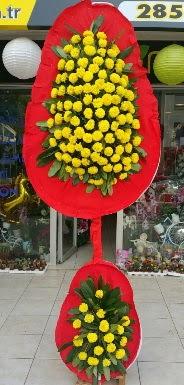 Çift katlı düğün nikah açılış çiçeği  Ankara çiçek servisi , çiçekçi adresleri