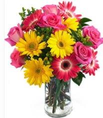 Vazoda Karışık mevsim çiçeği  Ankara 14 şubat sevgililer günü çiçek