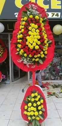 Çift katlı düğün nikah açılış çiçeği  Ankara çiçek siparişi sitesi