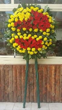 Cenaze çelengi çiçek modeli  Ankara çiçek siparişi vermek
