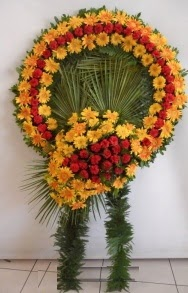 Cenaze çiçek modeli  Ankara çiçek siparişi vermek