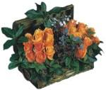 Ankara çiçek servisi , çiçekçi adresleri  Oranj kaliteli bir gül sandigi