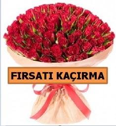 SON 1 GÜN İTHAL BÜYÜKBAŞ GÜL 101 ADET  Ankara hediye sevgilime hediye çiçek