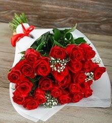 33 adet kırmızı gülün ihtişamı  Ankara yurtiçi ve yurtdışı çiçek siparişi