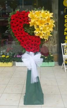 Yasin model ferförje kalp çiçek modeli  Ankara çiçek gönderme