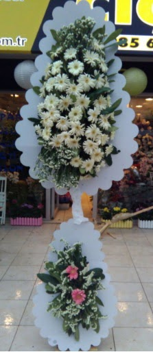 Çift katlı düğün nikah açılış çiçeği  Ankaraya çiçek yolla