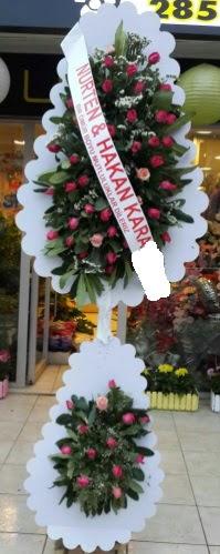 Güllü düğün nikah açılış çiçek modeli  Ankara çiçek , çiçekçi , çiçekçilik