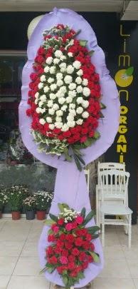 Çift katlı işyeri açılış çiçek modeli  Ankara çiçek satışı
