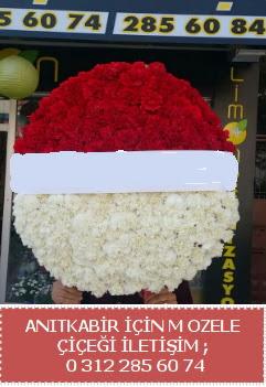 Anıtkabir için mozele çiçeği çelengi  Ankaraya çiçek yolla