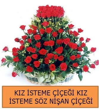 Kız isteme söz nişan çiçeği 71 güllü  Ankara İnternetten çiçek siparişi
