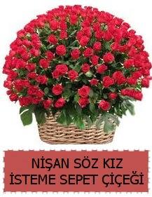 Kız isteme söz nişan çiçeği Sepeti 91 güllü  Ankara İnternetten çiçek siparişi