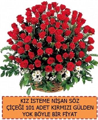 101 Güllü söz nişan kız isteme çiçeği  Ankara çiçek , çiçekçi , çiçekçilik