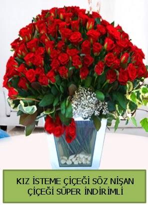 Söz nişan kız isteme çiçeği 71 gülden  Ankarada çiçek gönderme sitemiz güvenlidir