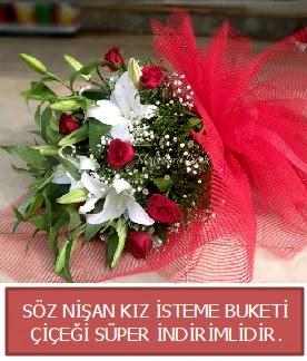 Söz nişan kız isteme buketi  Ankaraya çiçek yolla