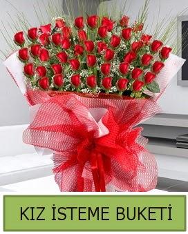 Kız isteme buketi 33 adet kırmızı gül  Ankara ucuz çiçek gönder
