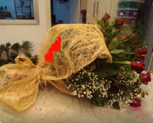 21 adet kırmızı gül kız isteme buketi  Ankara çiçekçi telefonları
