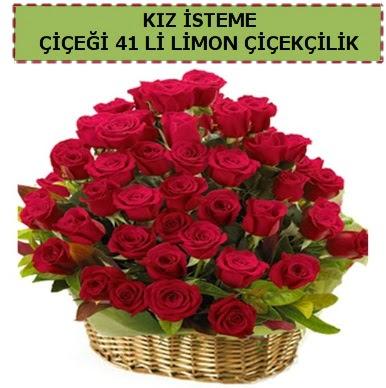 41 Adet gül kız isteme çiçeği modeli  Ankaraya çiçek yolla