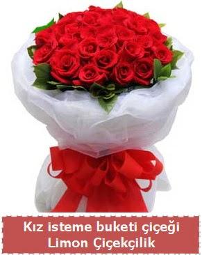 Kız isteme çiçeği buketi 29 kırmızı gül  Ankaraya çiçek yolla