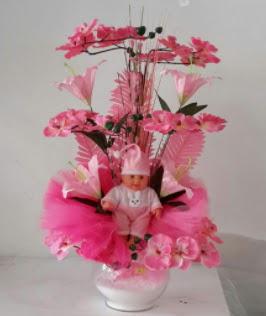 Pembe cam bebekli bebek doğum çiçeği  Ankara çiçek , çiçekçi , çiçekçilik