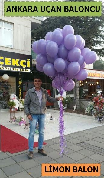 Ankara 50 adet istenilen renkte uçan balon  Ankara çiçek satışı