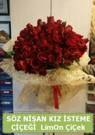 51 adet güllü Söz nişan kız isteme çiçeği  Ankara çiçek satışı