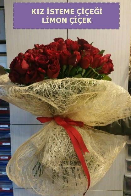 41 adet güllü Söz nişan kız isteme çiçeği  Ankara çiçekçi telefonları