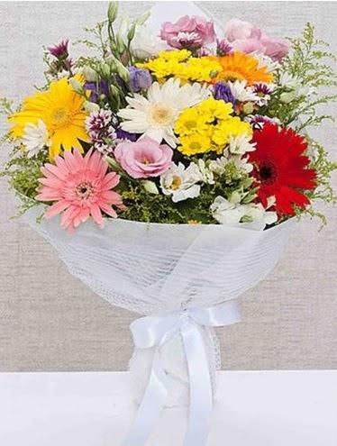 Karışık Mevsim Buketleri  Ankara çiçek satışı