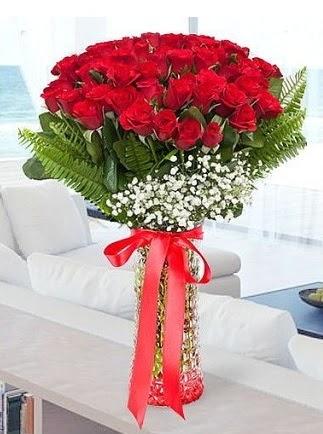 Vazoda 41 kırmızı Gül (Maşallah)  Ankara çiçek online çiçek siparişi
