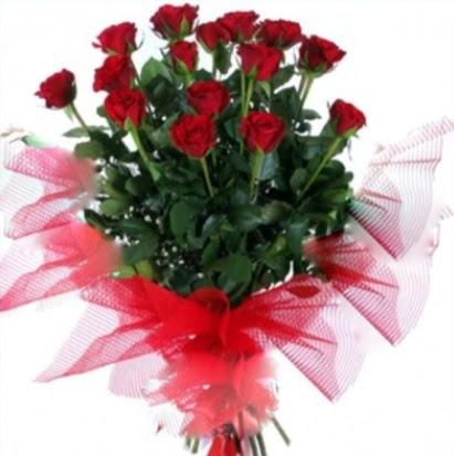 15 adet kırmızı gül buketi  Ankara güvenli kaliteli hızlı çiçek