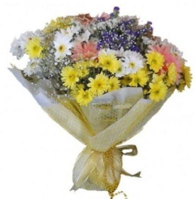 Karışık mevsim çiçeği  Ankara çiçek , çiçekçi , çiçekçilik