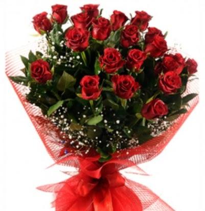 Kız isteme buketi çiçeği sade 27 adet gül  Ankara İnternetten çiçek siparişi