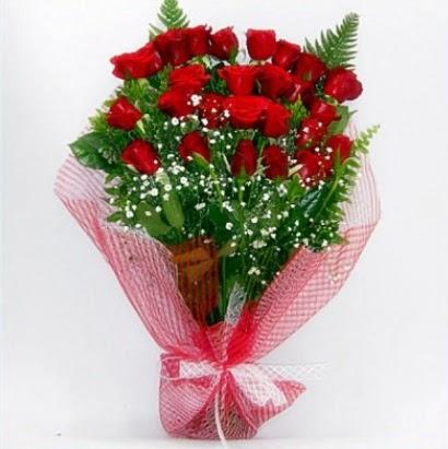 Kız isteme buketi çiçeği sade 29 adet gül  Ankaraya çiçek yolla