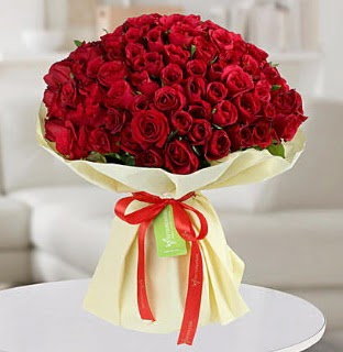 101 adet kırmızı gül buketi koca demet  Ankara çiçek servisi , çiçekçi adresleri