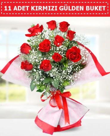 11 Adet Kırmızı Gül Buketi  Ankara çiçek servisi , çiçekçi adresleri