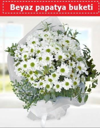 Beyaz Papatya Buketi  Ankara çiçekçi mağazası