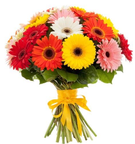 Gerbera demeti buketi  Ankara çiçek , çiçekçi , çiçekçilik