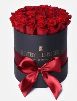 Siyah kutuda 25 adet kırmızı gül tanzimi  Ankarada çiçek gönderme sitemiz güvenlidir