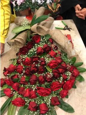 Kız isteme 41 adet gül nişan çiçeği  Ankara hediye çiçek yolla